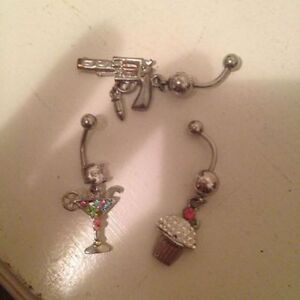 NEW BELLY RINGS