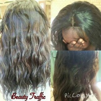 Weave/weft and braids