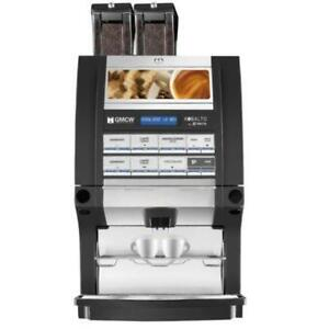 Automatic Espresso Machine w/ 2 Bean Hoppers & 2 Soluble Hoppers