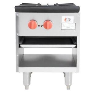 Cooking Performance Group CPG-SP-18-2 Gas Stock Pot Range70,000