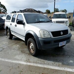 2004 Holden Rodeo RA LX Crew Cab Silver 5 Speed Manual Cab Chassis St James Victoria Park Area Preview
