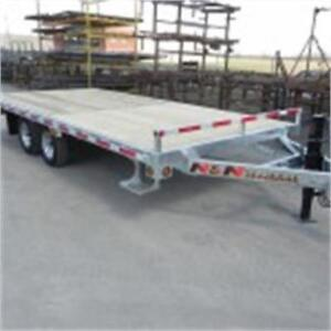 Remorque NN Plate Forme 16' /  Deck Over Trailer
