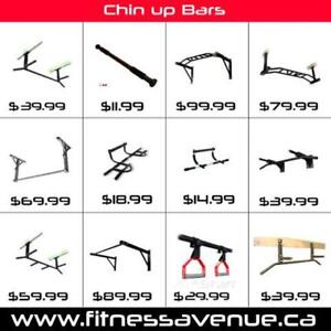 Multi-Grip Chin Up Bar / Pull Up Bar for P90X Rotating Handles