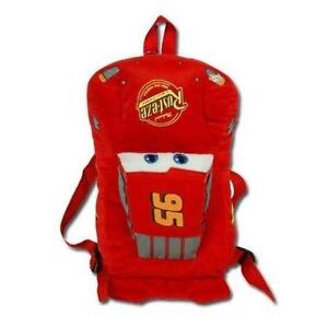 "New Cars 12"" Plush Backpack with Hangtag School Bag"