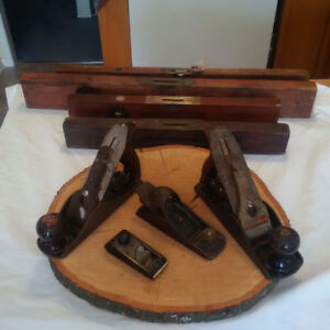 4 NOW 2  Antique PLANES and 4 ANTIQUE LEVELS ** SEE EACH PRICE