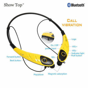 Headphone HBS-860 Wireless Bluetooth 4.0 Stereo Neckband Style