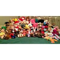 NEED GONE ASAP- LOT OF 96 TY Beanie Babies Collectible- 150$ OBO