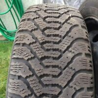 195/55R15 GOODYEAR NORDIC (9/32) + Jantes 5 x 108