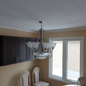 Beautiful modern chandelier in perfect condition. Peterborough Peterborough Area image 1
