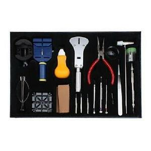 Deluxe 20 Pieces Watch Repair Tool Kit - Screwdrivers Watchband