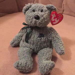Shamrock the St. Patrick's Day bear Ty Beanie Baby