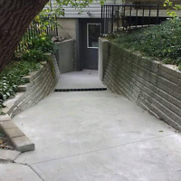 Stamped concrete only $8 SF shed/hot tub pads starting @$850+