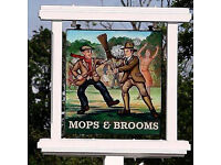 Full Time Front of House Team Member - Up to £7.20 per hour - Mops and Brooms - Borehamwood, Herts