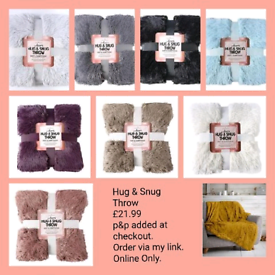 Hug & Snug Throw £21.99