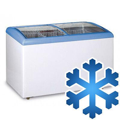 [TTS338] Tiefkühltruhe 308 Liter / Glas