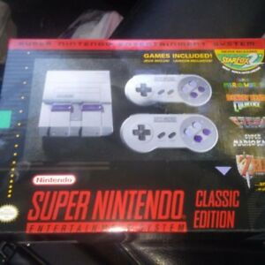 New Super Nintendo Mini Console