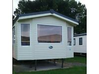 Static caravan to hire Seton sands
