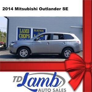 2014 Mitsubishi Outlander SE**7 PASSENGER**