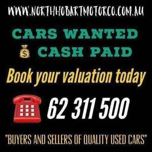 CARS WANTED - CASH PAID North Hobart Hobart City Preview