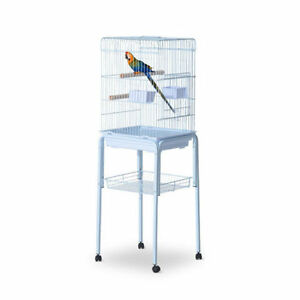 "Large 51"" Bird Parrot Cage / Finch Cockatoo Play Top Pet Feeding"
