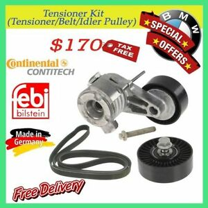 BMW Tensioner kit (tensioner/Belt/idler pulley)