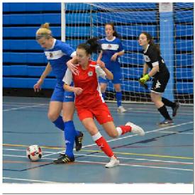 Ladies women's football 5 a-side football