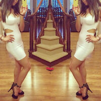 White Guess by Marciano Elegant Party Sexy Dress