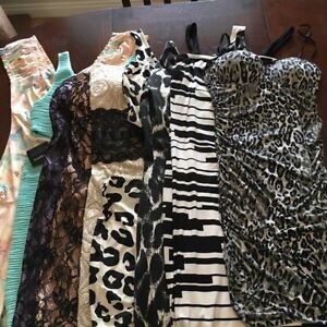 8 beautiful womans dresses for $10.00 each! SIZE SMALL