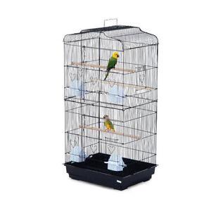 "Bird Cage 36"" Playhouse Parrot / 2 Doors Bird finch macaw Cage"