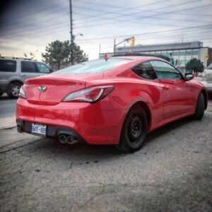 Hyundai Genesis Coupe Custom Dual Exhaust systems 2.0 & 3.8