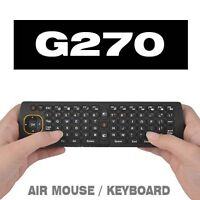 G270 AIR MOUSE KEYBOARD LINUX ANDROID WINDOWS MAC OS SMART TV