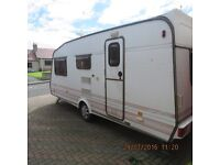 Caravan for spares or repair SOLD SUBJECT TO PICK UP
