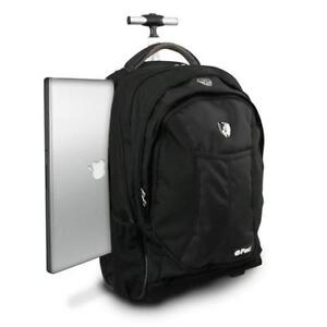 Heys ePac NOTEBOOK BACKPACK on wheels with padded wall,