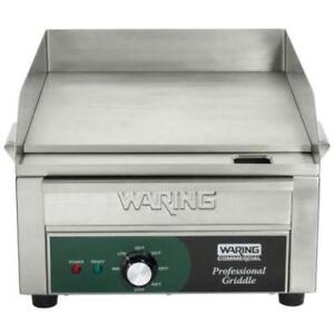 Waring WGR140 Electric Countertop Griddle 17 - 120V .*RESTAURANT EQUIPMENT PARTS SMALLWARES HOODS AND MORE*