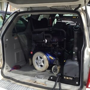 Wheel Chair Equiped 2004 Ford Freestar Minivan, Van