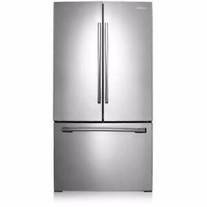 36-inch Stainless Refrigerator, Bottom freezer, Samsung NEW!!