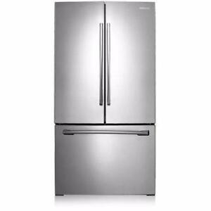 36-inch Stainless Refrigerator, Bottom freezer, Samsung NEW!!
