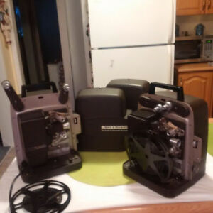 2 SAME VINTAGE Bell & Howell Film Projectors ** SEE EACH PRICE *