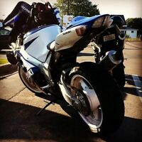gsxr 750 for sale or trade for car