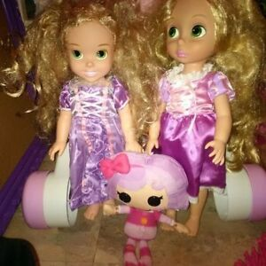 Strawberry Shortcake & Friends Rapunzel and lalaloopsy