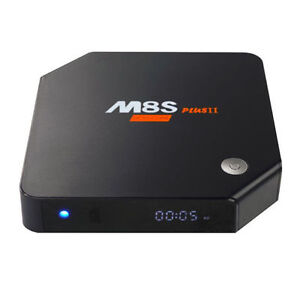 M8S+ II 3GB QUAD CORE ANDROID 6.0 TV BOX - KODI 16.1 & 17