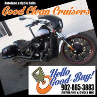2013 Kawasaki Vulcan 900 Custom- Bags,Pipes,QuikRelease Fairing Bedford Halifax Preview