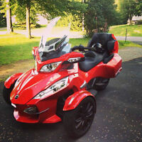 spyder can am rt 2013