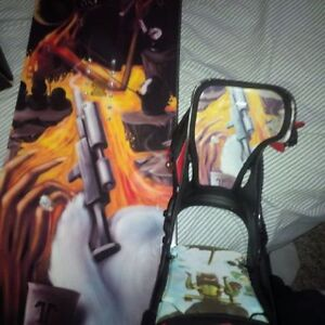 brand new travis kennedy  board and bindings