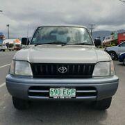 1997 Toyota Landcruiser Prado VZJ95R GXL White 4 Speed Automatic Wagon Bungalow Cairns City Preview