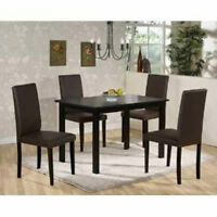 5PCS DINING SET ONLY $199.OO LOWEST PRICES GUARANTEED