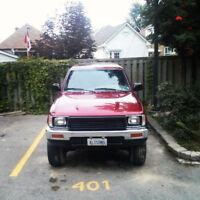 Lifted 1991 Toyota 4Runner Low KM One Owner for 24 Yrs