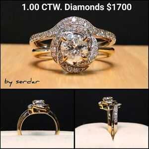 Diamond Engagement Ring Manufacturer Sale Below Cost