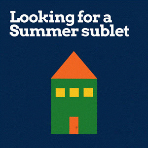 Wanted: Sublet