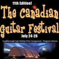 The Canadian Guitar Festival July 24-26